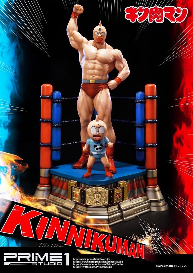 Prime 1 Studio - 熱血摔角漫畫《金肉人》1/4比例尺寸 精緻雕像作品!!キン肉マン