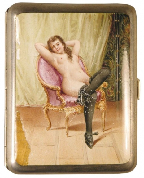 最頹廢的藝術品 20世紀初期煙盒,上流人士手中的情色秘密10