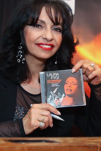 International  'Jazz' singer Laura Fygi