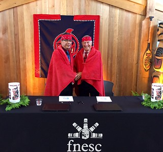 Protocol agreement signing strengthens Aboriginal education