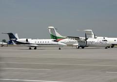 JetConnection Businessflight | Bombardier Learjet 60 | D-CSIX | Viaggio Air | ATR 42 | LZ-ATS | Leipzig-Halle | LEJ | EDDP