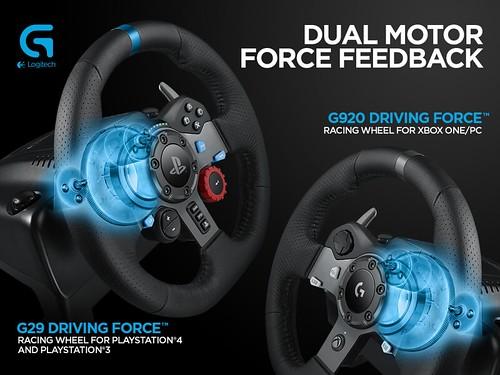 G29 & G920 Steering Wheels