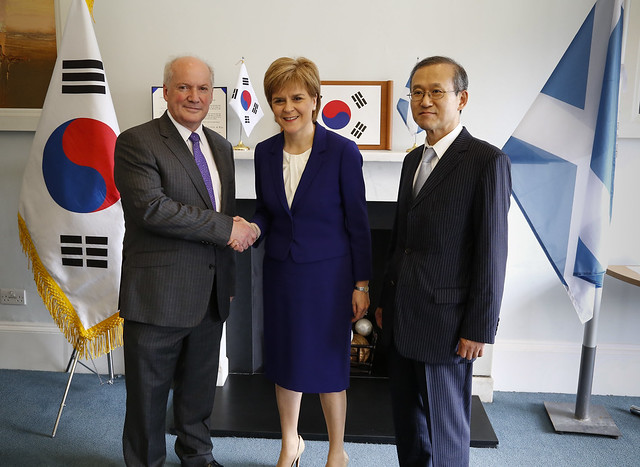 Korean Honorary Consulate opening