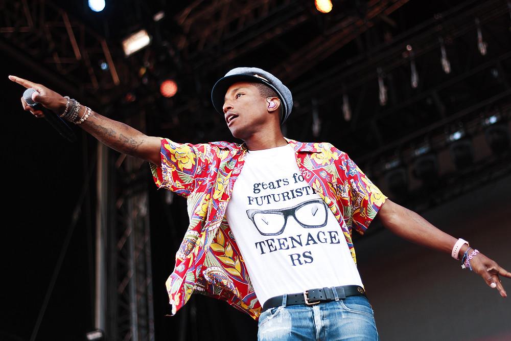 Pharrell Williams @ Ruisrock 2015