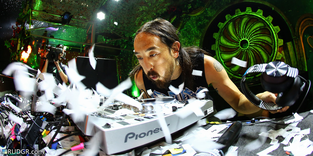 Steve Aoki @ The 2014 edition of Tomorrowland – Weekend I
