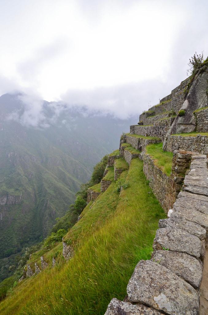 Terrazas de cultivo de Machu Picchu