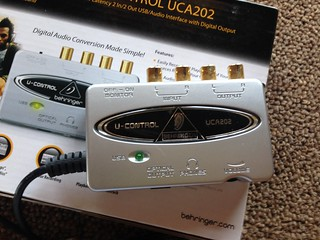 Behringer USB U-Control UCA202