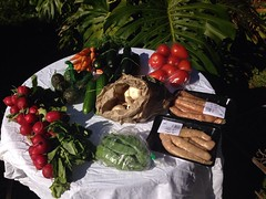 Fresh produce purchased at the Cleveland QLD Marke…