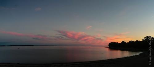 pink sunset beautiful rose canon soleil coucher romantic lovely magical mauricie romantique magique