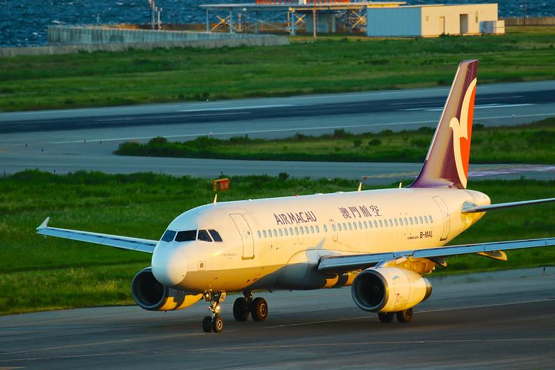B-MAL 澳门航空 マカオ航空 AIR MACAU Airbus A319