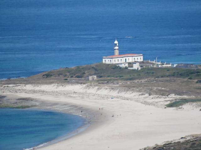 Faro de Lariño desde Monte Louro