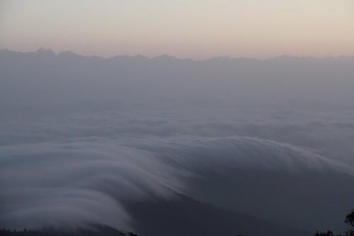 morning sky cloud india mountain montagne ciel himalaya nuage darjeeling inde matin
