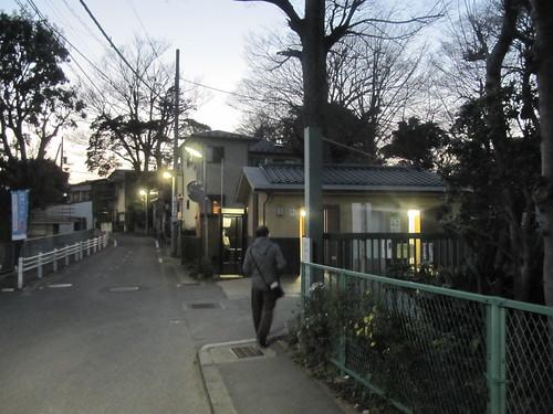 法華経寺の入口