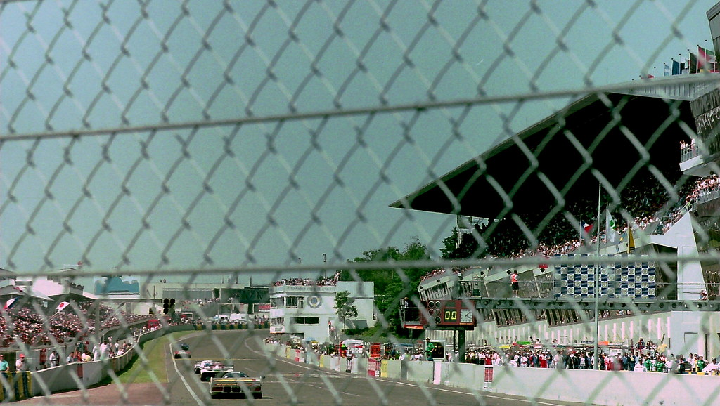 The finish of the 1994 Le Mans