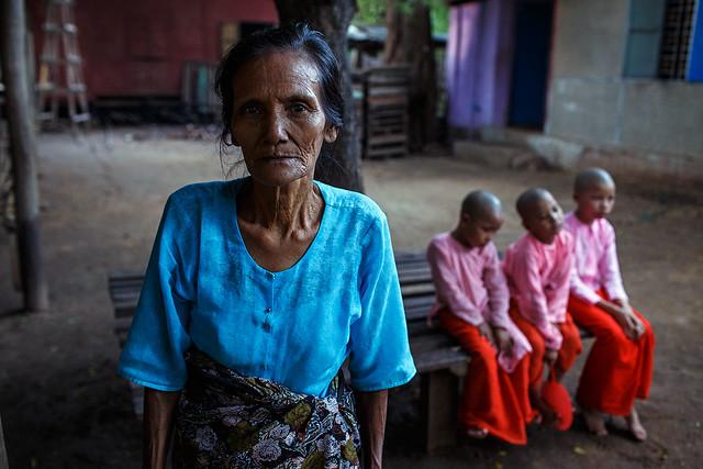 Portrait - Pakokku, Myanmar, Canon EOS 6D, Canon EF 35mm f/1.4L