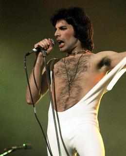 Freddie Mercury live @ Indianapolis - 1976