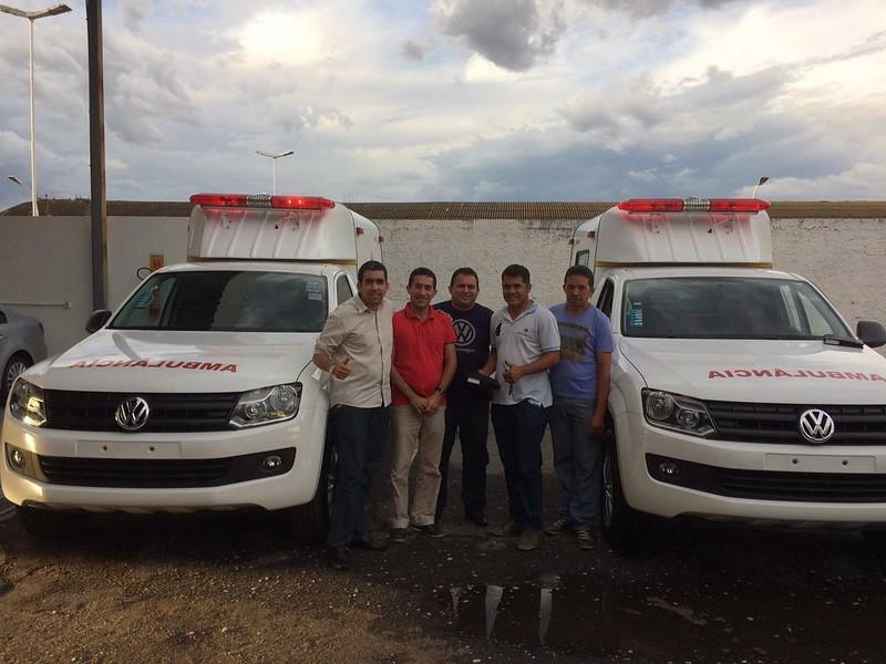 Município de Matões (MA) passa a contar com ambulâncias Volkswagen Amarok