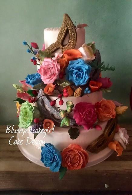 Cake by Leantine Le Blanc of Blueeyedcakegirl Cake Desigen