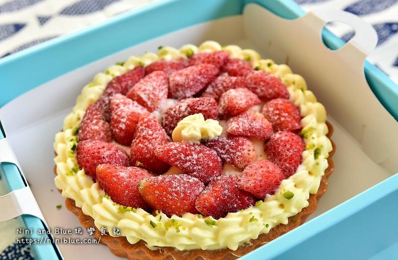 台中甜點.流浪者甜點研究室草莓塔04