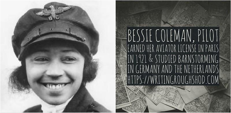 BESSIE COLEMAN #100travelHERS