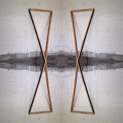 wood, triangle, lighting,