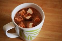 Hot Chocolate with Dandies Marshmallows (Vegan)