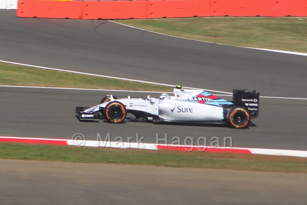 Susie Wolff in Free Practice 1 at the 2015 British Grand Prix