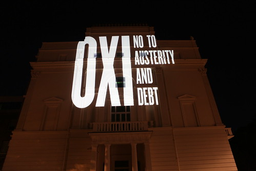 OXI - no to austerity and debt