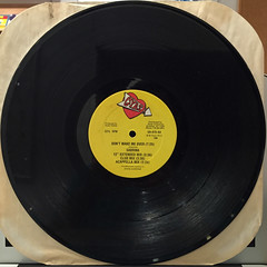 SABRINA & YANKS:DON'T MAKE ME OVER(RECORD SIDE-B)