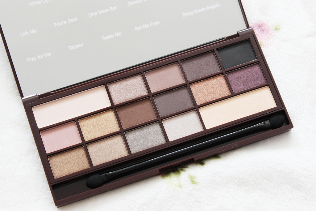 Makeup Revolution I Heart Makeup Death By Chocolate Palette (3)