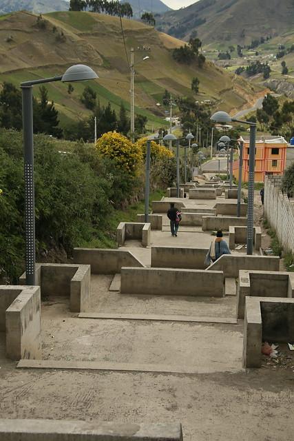 Walking the Quilotoa Loop, Ecuador.