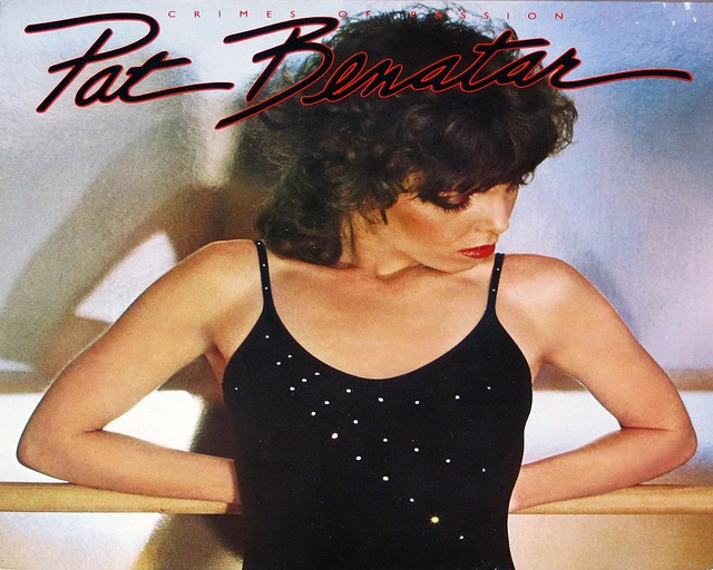 "PAT BENATAR CRIMES OF PASSION 12"" LP VINYL"