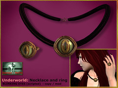 Bliensen - Underworld - necklace and ring
