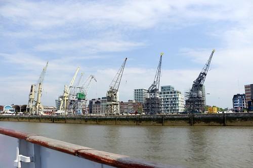 Anversa vista dal fiume