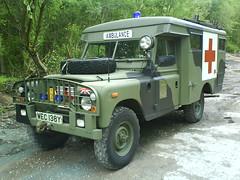 series 3 Landrover Ambulance ex RAF.
