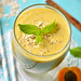 Peach and apricot smoothie.