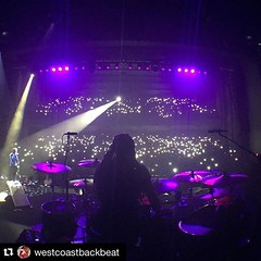 #Repost @westcoastbackbeat @zmyersofficial @bkerchofficial @shinedown @shinedownsnation @pearl_drums @meinlcymbals @evansdrumheads @promarkbydaddario #Shinedown