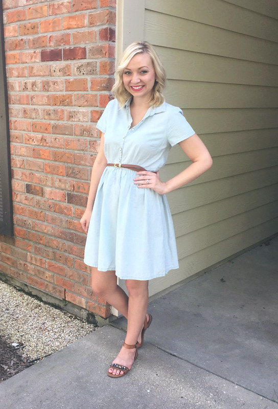 chambray dress