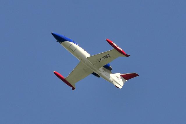 LX-TWO Learjet 35A