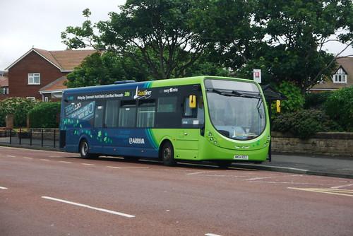 Arriva Northumbria Wright StreetLite NK64 EEZ, Tynemouth