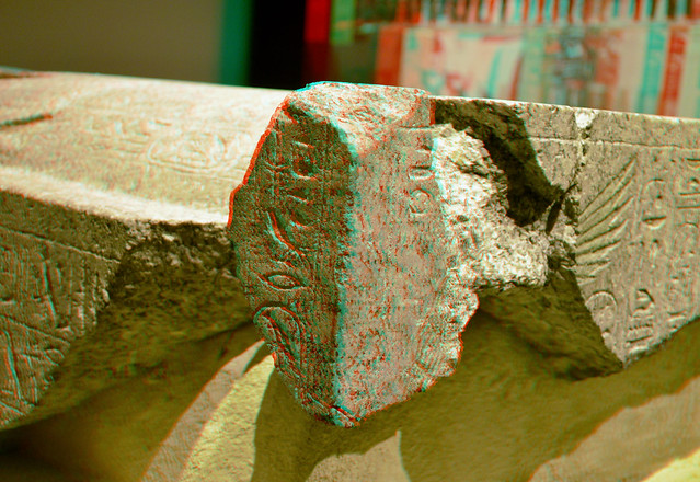 Sarcophagus Lid of Queen Nefertari 3D