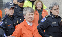 Ellen Is Arrested for Participating in an Anti-Torture Demonstration Inside the Hart Senate Office Building