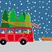 Christmas Bus by Elisandra Sevenstar by Sevenstar aka Elisandra