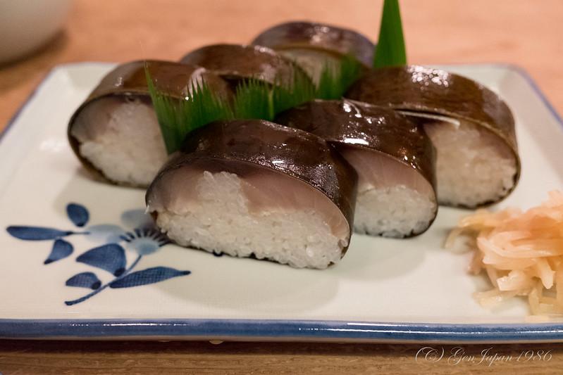 いづう 鯖寿司