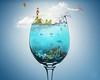 Ocean in Glass by Photothomas85
