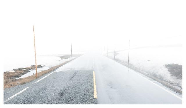 Hardangervidda: on the road