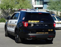 Riverside County CA Sheriff - 2016 Ford Police Interceptor Utility (2)