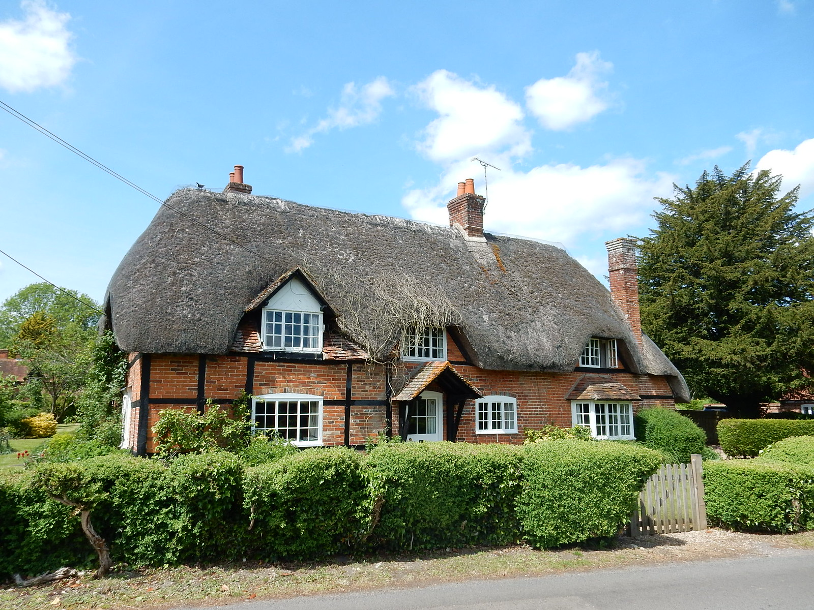 Thatched house Whitchurch to Andover