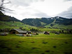 Swiss Alps countryside