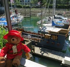 Paddington's Canadian cousin stumbled across a pirate ship